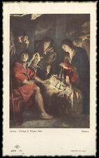 """santino-holy card""""""""ediz. NB serie ARTE  n.24 NATIVITA'"""