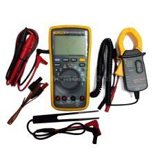 FLUKE 17B+ Digital Multimeter Meter F17B+ AC DC Voltage Current + AC Transducer