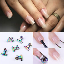 C Curve Nail Art Pinching for Nails Tips Extended Stainless Steel Nail Finger
