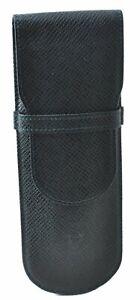 Authentic Louis Vuitton Taiga Etui Stylo Pen Case Green M30364 LV D9768