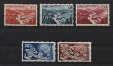 Saarland 252-254 und 297-298 Luftpost postfrisch (B03573)