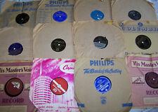 Job Lot 78s Gramophone Records Doris Day, Johnny Brandon, Dinah Shore etc