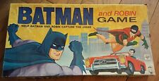 VINTAGE 1965 BATMAN AND ROBIN GAME  BY HASBRO, NO. 2685, CAPTURE THE JOKER