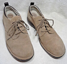 """SUEDE LEATHER WOMEN'S BASS """"SASSY"""" SHOE SIZE 8M 29761-5 Beige Comfort Lace-up"""