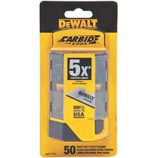 Dewalt Carbide Utility Knife Blades 50-Pack T21775