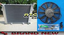 Aluminum radiator + fan for Jeep Grand Cherokee 5.2L 5.9L V8 1993-1998 94 95 96