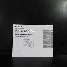 Fuji FinePix X100 Camera New Features Guide  Brochure O401746