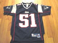 REEBOK NFL EQUIPMENT NEW ENGLAND PATRIOTS JEROD MAYO PREMIER JERSEY YOUTH M