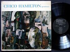 CHICO HAMILTON Quintet LP PACIFIC JAZZ PJ 1225 US 1957 DG MONO Paul Horn CLEAN
