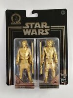 2019 Star Wars Commemorative Edition Skywalker Saga: OBI-WAN & ANAKIN GOLD