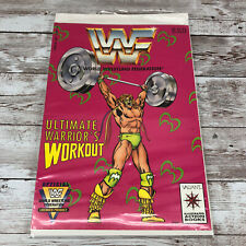 WWF Ultimate Warrior's Workout Comic Action Book 1991 Rare