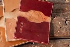 RARE Ashland Leather USA - Horween RUBY Shell Cordovan - Front Pocket Wallet