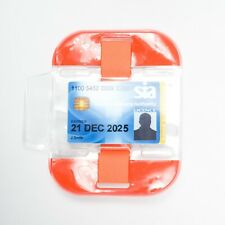High Visibility Security Arm Band ID Holder - Orange