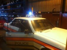 Ford Granada EX Glasgow Police Car (Part of one mans collection)