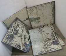 "(5) 24"" x 24"" Antique Reclaimed Tin Ceiling Tile Sold Individually"