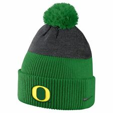 New Men's Nike Oregon Mighty Ducks New Day Beanie Hat NWT Green