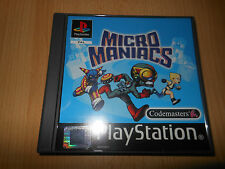 Micro Maniacs Playstation 1 - PS1 comme neuf Collectors PAL VERSION