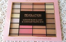 Makeup Revolution Blush Palette 2018 Contour+Highlighter+Blusher powder shades