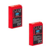 2x Baxxtar PRO Energy Akku für Olympus BLS-5 BLS-50 (echte 1100mAh) mit Infochip