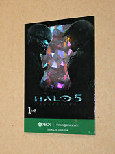 Xbox One Exclusive promo Halo 5 Card from Gamescom 2015 ( FOIL )
