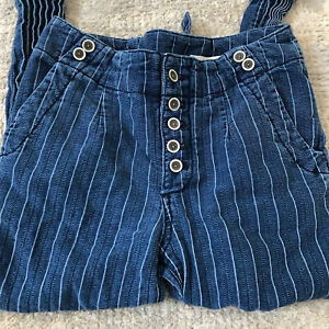 Pilcro and The Letterpress Anthropologie Size 25 High Rise  Pants Striped