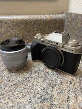 Fujifilm X-T200 24.2MP Mirrorless Camera - Champagne Gold (XC 15-45mm)