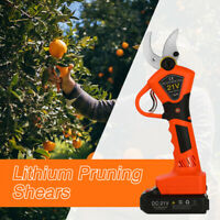 3CM 21V Electric Pruning Shears Rechargeable Cutting Tool Garden Secateur Cutter