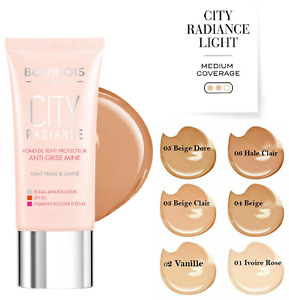 BOURJOIS City Radiance Skin Protect Foundation 30ml SPF30 - Six Shades Available