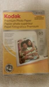 Kodak - Premium Photo Paper, 60 Sheets, 4x6 Gloss, NEW, SEALED