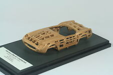 "Ferrari 250 GT California ""wooden"" buck 1:43 Monza Models in BBR showc no AMR"