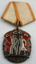Original Soviet Russian Russia Order Medal of Honor # 778968 excellent US seller