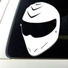 THE STIG Helmet Vinyl Sticker Decal Top Gear Racing UK USA JDM Honda dsm shocker
