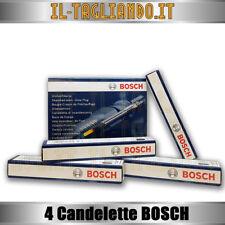 4 Candelette Alfa 147 156 jtd 93-100-103kw, Alfa 159 1.9 JTDM 150cv della BOSCH