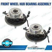 (2) 515078 Front w/ABS Wheel Hub Bearing for 06-10 Explorer Mercury Mountaineer