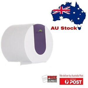 Dolphy Wall Mounted Small Toilet Paper Dispenser - Purple