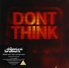 THE CHEMICAL BROTHERS - DON'T THINK  DVD + CD NEW+