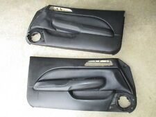 97-01 Honda Prelude Door Panels Covers Black OEM Left Right 97 98 99 00 01 PAIR