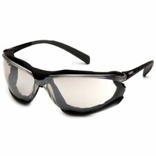 Pyramex Proximity Safety Glasses Black Frame Indoor/Outdoor Anti-Fog Lens