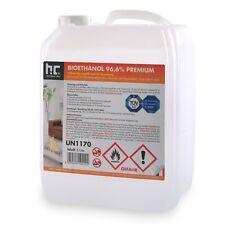 5 Liter Bioethanol Premium 96,6% Kamin Alkohol TÜV SÜD geprüft