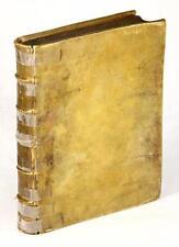 VELLUM 1698 MEDITATIONES DE PRIMA PHILOSOPHIA RENATI DESCARTES PHILOSOPHY