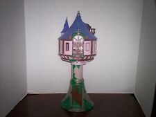 """Pre-owned Authentic Disney Store RAPUNZEL'S TOWER CASTLE PLAYSET! Tangled 17"""""""