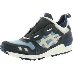 ASICS Tiger Mens GEL-Lyte MT Blue Suede Sneakers Shoes 10 Medium (D) BHFO 0405