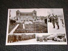 Fascismo in Italia nel 1938 Duce Benito Mussolini e Re Vitt.Emanuele III 20 anni