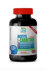 Fat Burner Weight Loss Caps - Acetyl L-Carnitine 500mg - Amino Acids Powder 1B