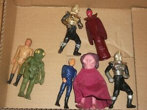1970s  206 batch LOT Vintage MATTEL BATTLESTAR GALACTICA figures