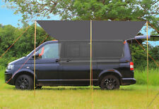 Campervan Sun Canopy Awning or Freestanding Shelter - Anthracite Grey