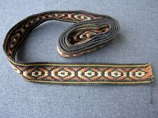 Vintage ethnic embroidery  trim edging 1 yard Unused