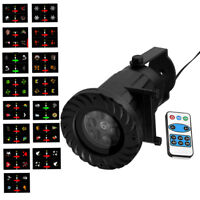 RGB 15 Filme LED Laser Licht Projektor Lampe Lichteffekt Strahler Weihnachten