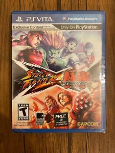 Street Fighter X Tekken - PlayStation Vita - New - NTSC