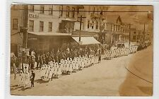 RED CROSS PARADE, SOUTH MAIN ST, MIDDLESBOROUGH: Massachusetts postcard (C16111)